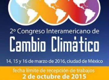 2º Congreso Interamericano de Cambio Climático