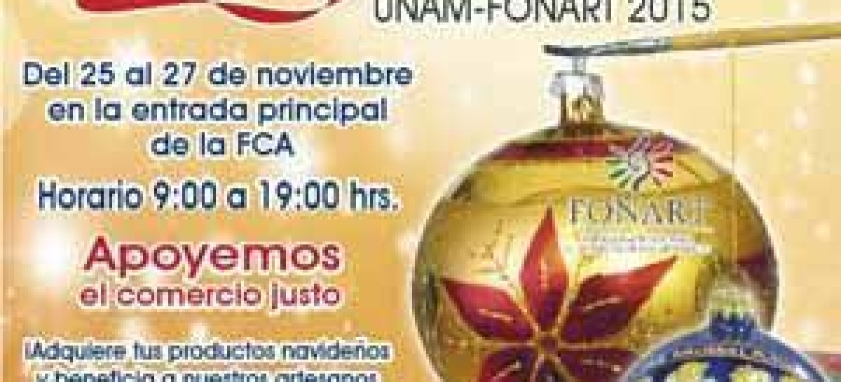 2da. Feria Artesanal de la esfera navideña UNAM – FONART 2015
