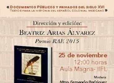 Documentos Públicos y Privados del Siglo XVI. Textos para la historia del español colonial mexicano