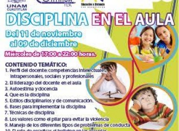 DISCIPLINA EN EL AULA 2015