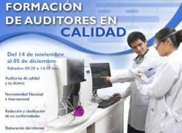 Formación de auditores de calidad.