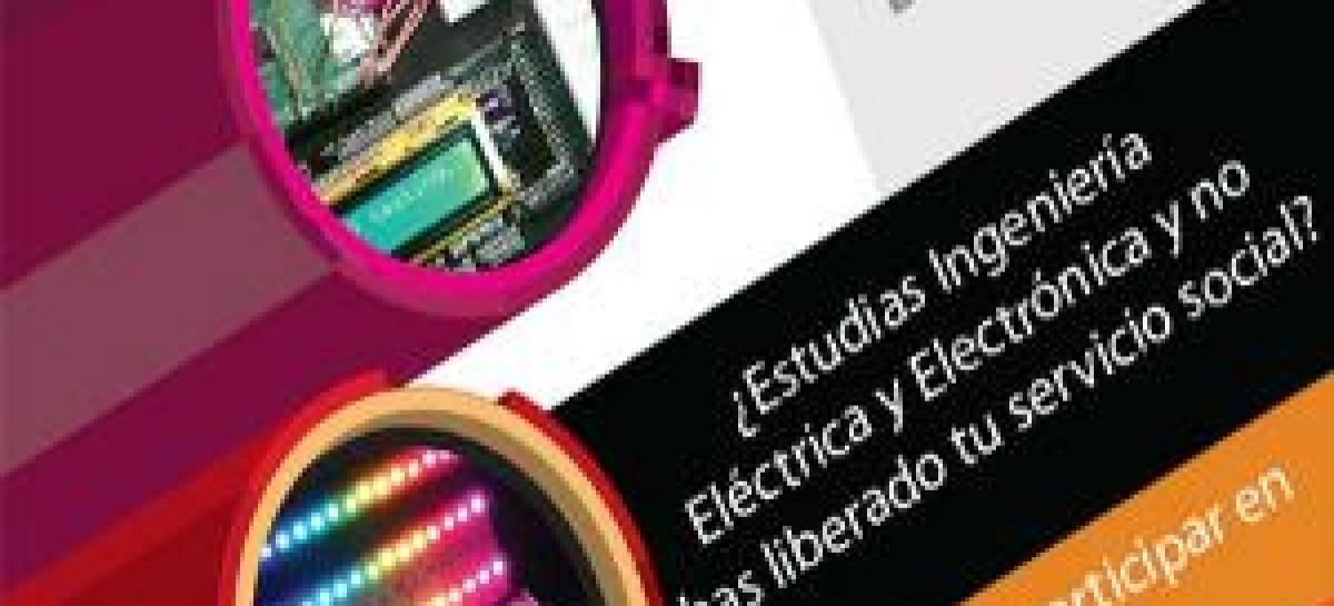 Ingenieros Eléctricos y electrónicos para Servicio Social en DGTIC