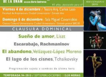 Clausura Temporada 94 TCUNAM – Viernes