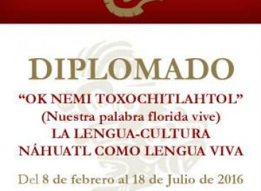 OK NEMI TOXOCHITLAHTOL (Nuestra palabra florida vive) La lengua-Cultura náhuatl como lengua viva