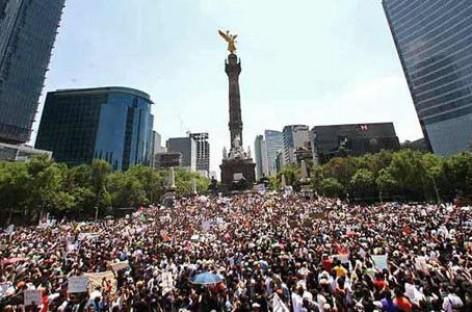 Cinco manifestaciones en la CDMX