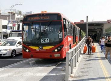 Metrobús dará servicio gratuito por contingencia ambiental