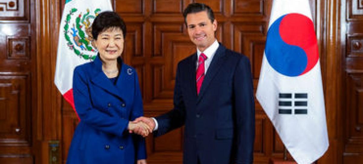México y Corea del Sur negociarán un posible TLC