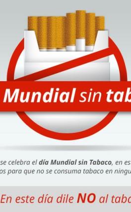 31 de  Mayo Día Mundial sin Tabaco: 24 horas para no fumar