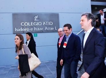 Entrevista al secretario Aurelio Nuño en su visita al Centro Comunitario Maguén David