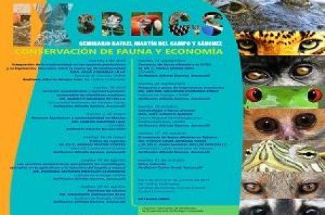 IX Seminario CRIM El comercio de fauna silvestre en Tabasco