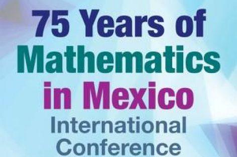 75 años de matemáticas en México