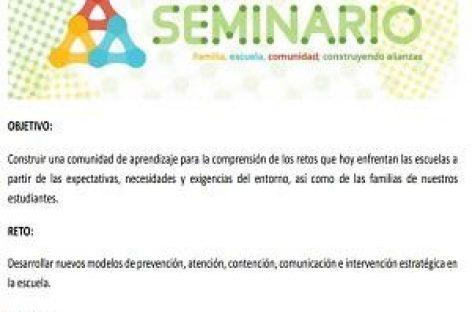 Seminario Familia, Escuela, Comunidad, Construyendo Alianzas