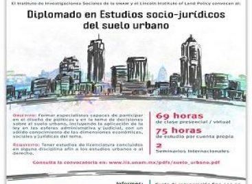 Diplomado en estudios sociojurídicos del suelo urbano