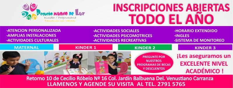 Pequeño Mundo de Luz Kinders.info