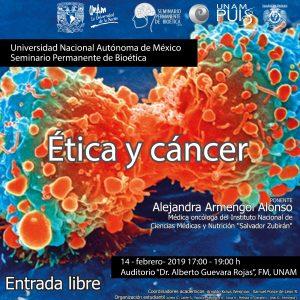 Ética y Cáncer @ Auditorio Dr. Alberto Guevara Rojas, Facultad de Medicina | Coyoacan | Ciudad de México | México