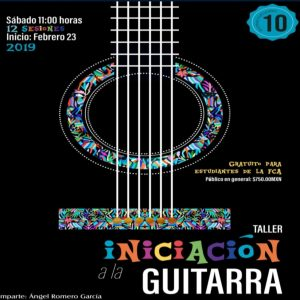 Iniciación a la guitarra @ Facultad de Contaduría y Administración | Coyoacán | Ciudad de México | México