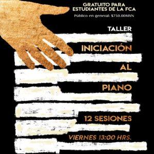 Iniciación al piano @ Facultad de Contaduría y Administración | Coyoacán | Ciudad de México | México