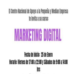Marketing digital @ Centro Nacional de Apoyo a la Pequeña y Mediana Empresa | Ciudad de México | Ciudad de México | México