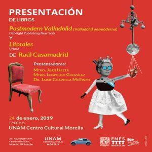 Postmodern Valladolid y Litorales @ Escuela Nacional de Estudios Superiores Unidad Morelia | Morelia | Michoacán | México