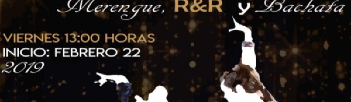 Salsa, Cumbia, Merengue, R&R y Bachata