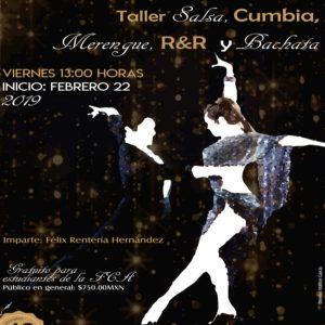 Salsa, Cumbia, Merengue, R&R y Bachata @ Facultad de Contaduría y Administración | Coyoacán | Ciudad de México | México