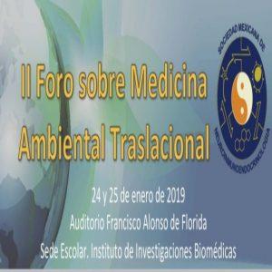 II Foro sobre Medicina Ambiental Traslacional @ Auditorio Francisco Alonso de Florida | Ciudad de México | Ciudad de México | México
