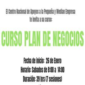 Plan de negocios @ Centro Nacional de Apoyos a la Pequeña y Median Empresa | Coyoacán | Ciudad de México | México