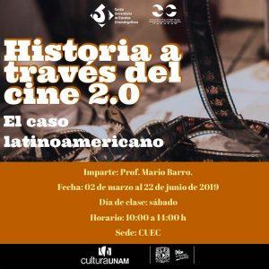 Historia a través del cine 2.0: El caso latinoamericano @ Centro Universitario de Estudios Cinematográficos   | Ciudad de México | Ciudad de México | México