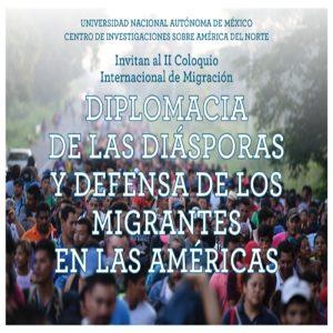 II Coloquio Internacional de Migración @ Sala de Seminarios, piso 7, Torre II de Humanidades | Ciudad de México | Ciudad de México | México