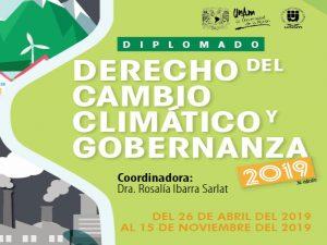 Derecho del Cambio Climático y Gobernanza 2019 @ Aula Reforma Política de 1977, IIJ | Coyoacan | Ciudad de México | México