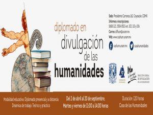 Diplomado en Divulgación de las Humanidades @ Casa de las Humanidades | Ciudad de México | Ciudad de México | México