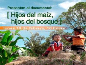 Presentación del documental Hijos del maíz, hijos del bosque @ Auditorio del CEIICH | Ciudad de México | Ciudad de México | México