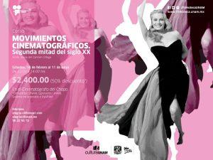 Movimientos cinematográficos. Segunda mitad del S. XX @ Museo Universitario del Chopo, Cinematógrafo del Chopo | Ciudad de México | Ciudad de México | México