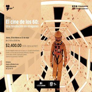 EL CINE DE LOS 60: UNA REVOLUCIÓN EN IMÁGENES @ Filmoteca UNAM - Sala de usos múltiples   Ciudad de México   Ciudad de México   México