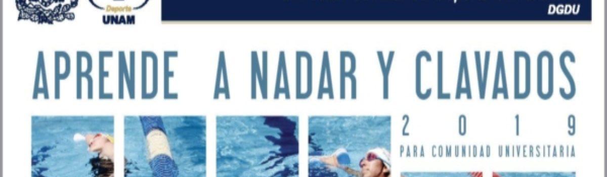 Aprende a nadar y clavados en la UNAM