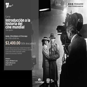 INTRODUCCIÓN A LA HISTORIA DEL CINE MUNDIAL @ Filmoteca UNAM, Aula Manuel González | Ciudad de México | Ciudad de México | México
