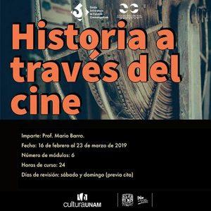 Historia a través del cine @ Centro Universitario de Estudios Cinematográficos | Ciudad de México | Ciudad de México | México