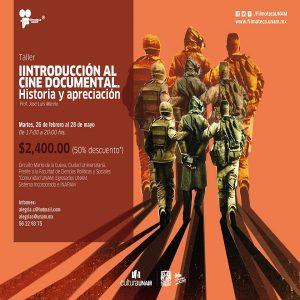 Introducción al cine documental. Historia y apreciación @ Filmoteca UNAM, Sala de usos múltiples | Ciudad de México | Ciudad de México | México
