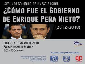 ¿Cómo fue el gobierno de Enrique Peña Nieto? (2012 – 2018) @ Sala Fernando Benítez | Ciudad de México | Ciudad de México | México