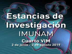 Cuarto Verano de la Investigación en Matemáticas 2019 @ Instituto de Matemáticas, Unidad Cuernavaca | Cuernavaca | Morelos | México