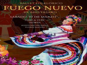Fuego Nuevo @ Auditorio Ricardo Flores Magón | Ciudad de México | Ciudad de México | México