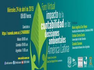 El impacto de la Contabilidad en las decisiones Ambientales en América Latina @ CEIICH   Ciudad de México   Ciudad de México   México