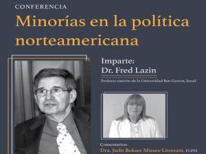 Minorías en la Política Norteamericana @ Sala Lucio Mendieta y Núñez, Facultad de Ciencias Póliticas y Sociales | Ciudad de México | Ciudad de México | México