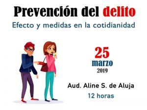 Prevención del Delito- Efecto y Medidas en la Cotidianidad @ Auditorio Aline S. de Aluja de Facultad de Medicina Veterinaria y Zootecnia | Ciudad de México | Ciudad de México | México