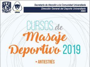 Masaje Deportivo 2019: Antiestrés @ Centro de Educación Continua de Estudios Superiores del Deporte   | Ciudad de México | Ciudad de México | México