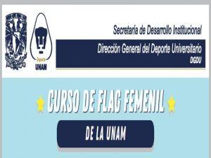 Curso de Flag Femenil de Extensión UNAM @ Dirección General del Deporte Universitario | Coyoacan | Ciudad de México | México