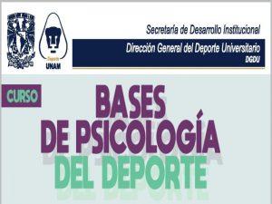 Bases de Psicología del Deporte @ Centro de Estudios del Deporte | Ciudad de México | Ciudad de México | México