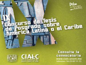 IX Concurso de tesis de posgrado sobre América Latina o el Caribe @ Centro de Investigaciones sobre América Latina y el Caribe. | Mexico City | Ciudad de México | México