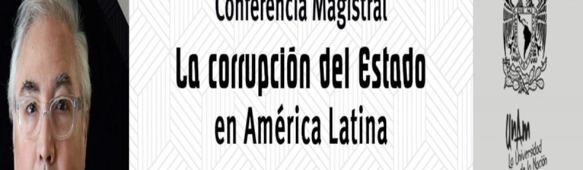 La corrupción del Estado en América Latina