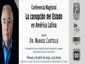 La corrupción del Estado en América Latina @ Auditorio Dr. Jorge Carpizo   Ciudad de México   México